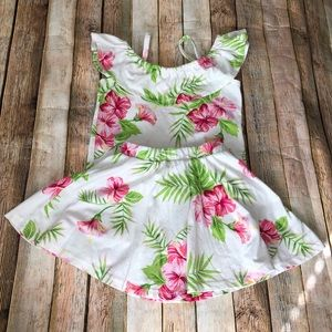 Floral Skirt and Top Set Size 4T